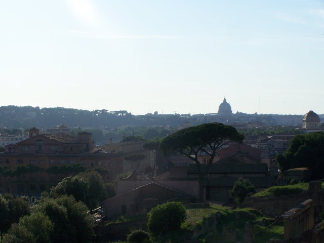 view of Rome...