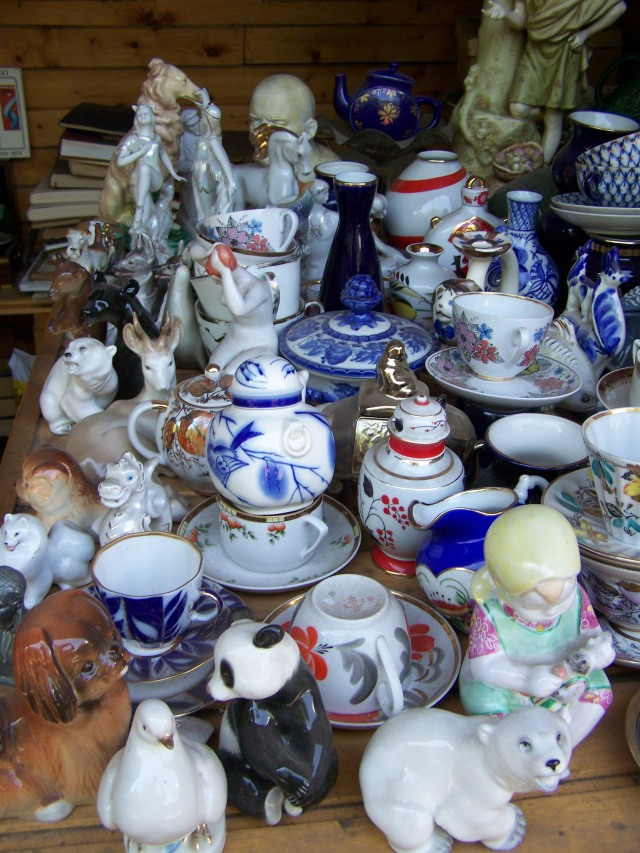 fantastic Soviet-era porcelain