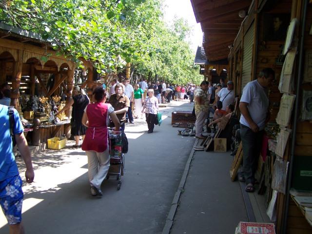 Izmailovo Flea Market